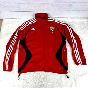 Adidas Soccer Red and black Jacket